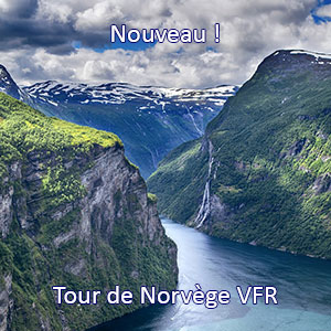 Norway VFR tour